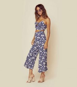 BLUE LIFE Carley High Waisted Culotte pants