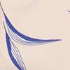 ניוד הדפס כחול