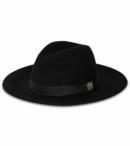 BILLY BONES CLUB - EL CHAPO FEDORA BLACK HAT