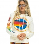 AVIATOR NATION PULLOVER HOODIE-VINTAGE WHITE