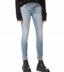 R13 Alison Skinny Jeans-Shiloh Stretch with Rips