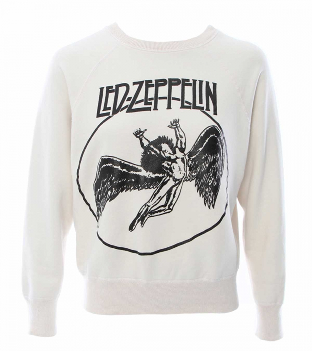 MADEWORN -LED ZEPPELIN FADED CREW
