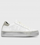 P448 SOHOF SNEAKERS WHITE\SILVER
