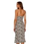 VIX-SCARLET LEONE SHORT DRESS MULTI