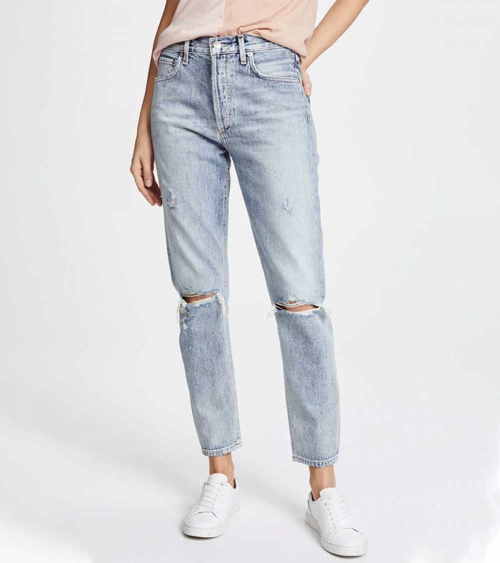 AGOLD-JAMIE HIGH RISE CLASSIC JEANS