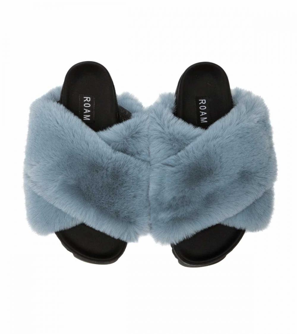 ROAM-CLOUD BLUE SLIPPERS